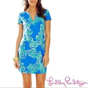NWT Lilly Pulitzer Layton Short Sleeve Shift Dress